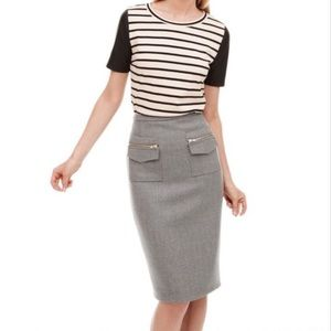 ❌Sold❌ J.Crew Wool Patch Pocket Pencil Skirt